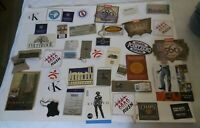 Vintage Lot Of 72 mixed Clothing Tags Levis, CK, Chaps, Nordstrom, IOU MORE!!