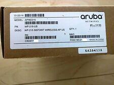 Aruba Networks Instant AP-215 (IAP-215-US) WAP w/30 days Return Warranty