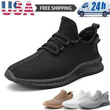 Men's Athletic Sneakers Lightweight Running Jogging Tennis Shoes Casual Walking