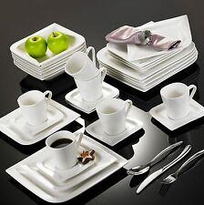 JOESFA 30X Porcelain Crockery Ceramic China Dinner Set Kitchen Service Cup Plate