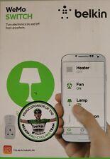 Belkin WeMo Switch Smart Device Controlled Plug F7C027uk