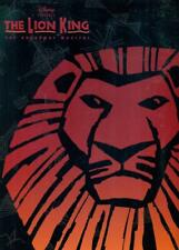 The Lion King Broadway Musical Souvenir Program 1997