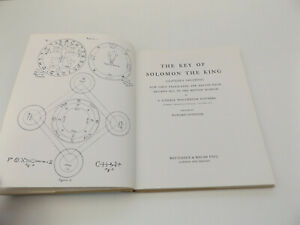 1981 The KEY of SOLOMON The KING Clavicula Salomonis OCCULT Magic WITCHCRAFT