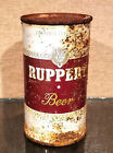 1950s RUPPERT FLAT TOP BEER CAN NORFOLK VIRGINIA CHURCHKEY STAR KEGLINED