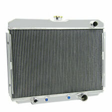 3 Row Aluminium Radiator For Ford Mustang Cougar XR7 V8 289 302 351 1967-1970 UK