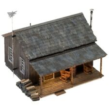 Woodland Scenics BR4955 Rustic Cabin N Scale Trains Kit Building