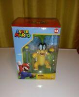 """Jakks Super Mario World of Nintendo Iggy Koopa 4"""" Action Figure"""