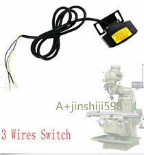 Bridgeport  Milling Machine LIMIT SWITCH ASSEMBLY SERVO POWER FEED TYPE 3 Wires