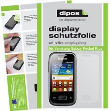 Samsung Galaxy Pocket Plus Schutzfolie matt Displayschutzfolie Folie dipos