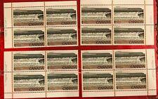 Canada #726, 1979 $1 Fundy, 4-Corner Set Unused NH