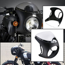 "Universal motorcycle 7"" Cafe Racer Headlight Fairing Screen Windshield Cover"