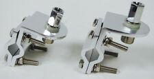 2X Aluminum Double Groove Mirror MOUNT CB Antenna Bracket 3/8 x 24 Stud so239