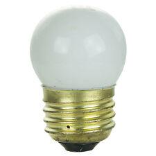 (25 Pack) 7.5-Watt S11 Medium Base 7.5S11 Incandescent Sign Light Bulb White NEW
