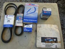 Lot of assorted Car Quest Automotive Parts in original boxes Belts Filters Hose