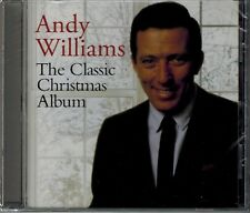 ANDY WILLIAMS - THE CLASSIC CHRISTMAS ALBUM -16 CHRISTMAS SONGS - NEW SEALED CD