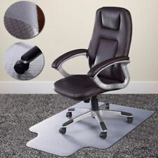 """36"""" x 48"""" Home Office Chair PVC Floor Mat Studded Back with Lip For Pile Carpet"""