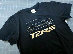 Tshirt homme RENAULT TWINGO 2 RS noir et or TAILLE S - ref 001