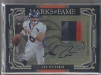 2007 Playoff Absolute Fame Rookie RC Auto Signed Jersey JAY CUTLER 23/25