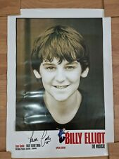 More details for rare billy elliot the musical special edition hand signed leon cooke poster