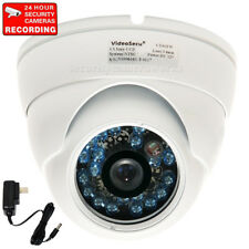 Dome Security Camera Outdoor Night Vision IR 600TVL SONY CCD CCTV Wide Angle BRP