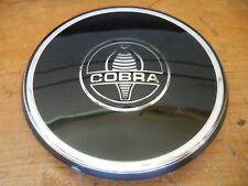 1960's SHELBY COBRA AC COBRA 427 STYLE STEERING WHEEL EMBLEM FOR WOOD WHEEL NEW