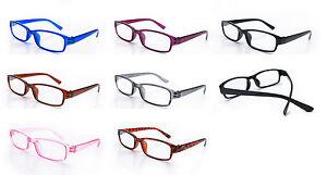 Slim Reading Glasses  form 0.00 to 3.5 Unisex Trendy Designer Spring Geek