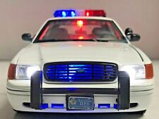 Arizona Highway Patrol 1/18 Police Crown Victoria P71 WORKING LED LIGHTS 4 SIREN