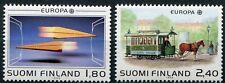 Finnland 1051 - 1052 postfrisch, Europa - Transport und Kommunikationsmittel