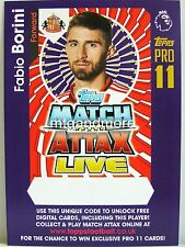 Match ATTAX 2016/17 Premier League-Fabio Borini-codice online