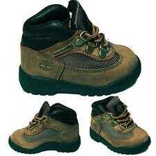 Timberland Field Boot Toddler Boys Olive Green Olive Leather Kids Boots 3287R