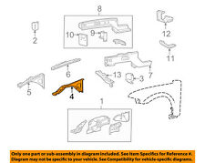 FORD OEM FENDER-Outer Reinforcement Right XW4Z16060AA