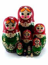 Matroschka puppe Babuschka Matrjoschka Russische holzpuppen Original 10 tlg 17cm