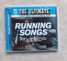 "CD AUDIO MUSIQUE / VARIOUS ""THE ULTIMATE RUNNING SONGS"" 2XCD COMPILATION  NEUF"