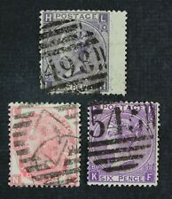 CKStamps: Great Britain Stamps Collection Scott#49-51 Victoria Used