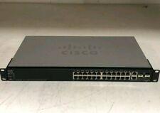 CISCO SG500-28P 28 Port Managed Stackable Gigabit POE SWITCH SG500-28P-K9