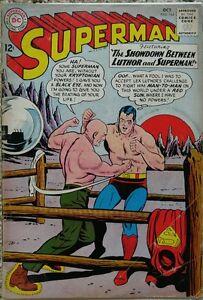 SUPERMAN #164 VG 4.0 DC 10/1963