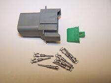1 Harley OEM Deutsch DT GRAY FEMALE 8X connector terminals switch wires wiring