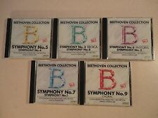 BEETHOVEN COLLECTION SYMPHONYS 1-9 FREE US SHIPPING NICE