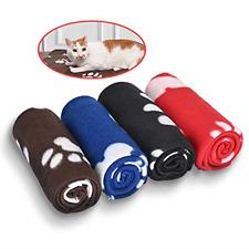 4 Pack Dog Blanket, Juqiboom Cat Soft Warm Fleece Bed Cover, Mat Fluffy Blanket
