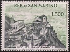 ** San Marino 1958: VEDUTA PANORAMICA [Lire 500 - MNH VF] 130€