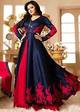 Indian Pakistani Designer Ethnic Anarkali Salwar Kameez  Suit Bollywood Dress