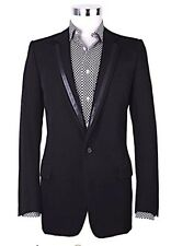Dior Homme by Hedi Slimane Suit SS03 Leather details Sz US 42 IT 52