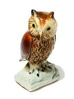 Vintage Goebel Owl Figurine✨Mint Condition! Shiny! Signed!