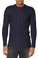 Superdry Mens Wool Blend Jacob Crew Neck Knit Pullover Jumper Sweater Downhill