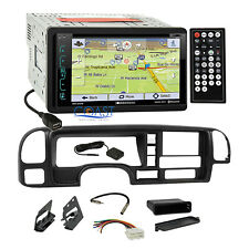 Soundstream DVD GPS Bluetooth Stereo Dash Kit Harness for 1995-02 GM Truck SUV