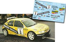 Decal 1:43 Enrico Bertone - PEUGEOT 306 MAXI - Rally El Corte Ingles 2001