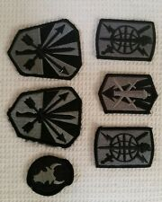 VELCRO military patches. Unknown origin purchased with US Navy unform