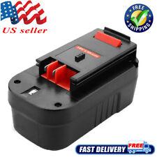 18Volt HP For BLACK & DECKER B18 Slide Battery HPB18-OPE HPD1800 NICD HPB18-OPE