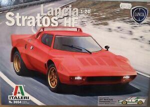 1:24 Italeri Lancia Stratos HF. Plastic Model Kit.