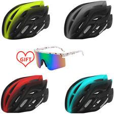 Adult Cycling Helmet MTB Mountain Road Bike Bicycle Helmet & Cycling sunglasses